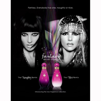 Britney Spears - Fantasy The Naughty Remix, 100 ml